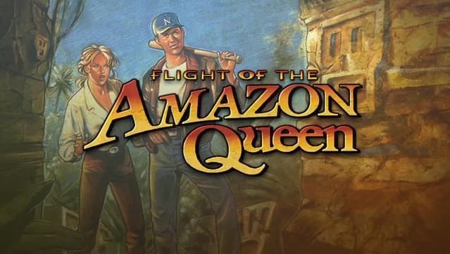 flight of the amazon queen adventure game