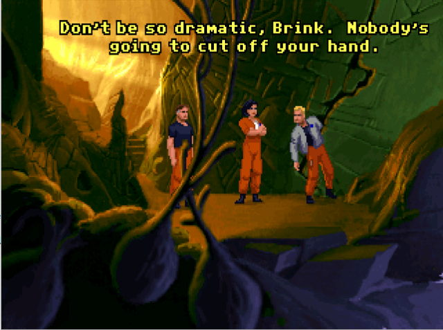 the dig 1995 pcgame